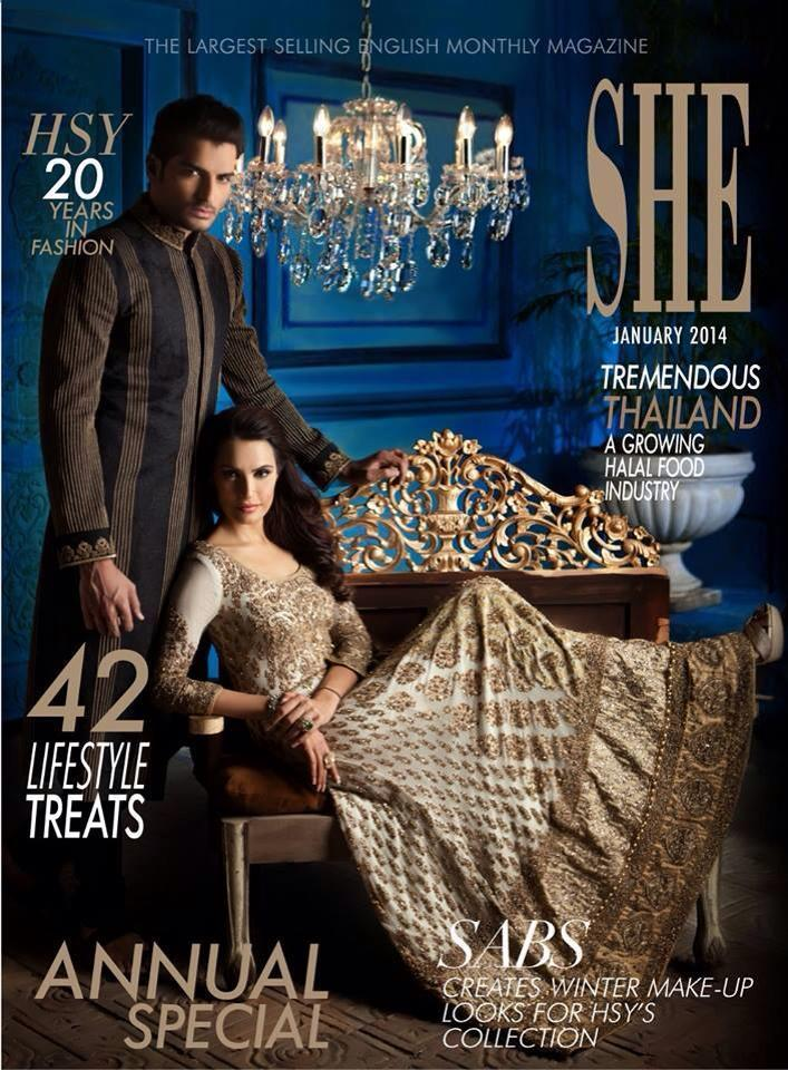 HSY Beautifully Designed Cloths 2014 for Men & Women (1)