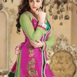 Infatuating Anarkalis Semi Stitched Suits 2014 for Women 1