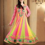 Infatuating Anarkalis Semi Stitched Suits 2014 for Women 2