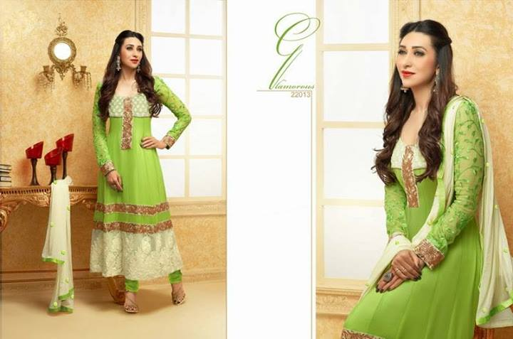 Karishma Kapoor Indian Designer Anarkali Dresses for ...