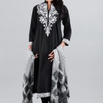 Khaadi Exclusive Pret Wear Winter Dresses Collection 2014 For Women (10)