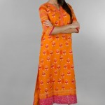 Khaadi Exclusive Pret Wear Winter Dresses Collection 2014 For Women (2)