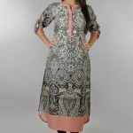 Khaadi Exclusive Pret Wear Winter Dresses Collection 2014 For Women (7)