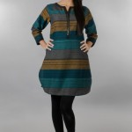 Khaadi Exclusive Pret Wear Winter Dresses Collection 2014 For Women (8)