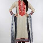 Khaadi Exclusive Pret Wear Winter Dresses Collection 2014 For Women (9)