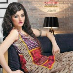 Latest Alishan Krinkel Spring Dresses Collection 2014 001