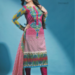 Latest Alishan Krinkel Spring Dresses Collection 2014 002