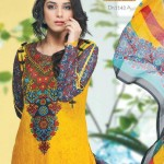 Latest Alishan Krinkel Spring Dresses Collection 2014 004