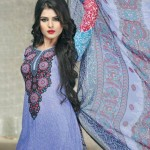 Latest Alishan Krinkel Spring Dresses Collection 2014 005