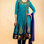 Latest Beautiful Anarkali Suits Collection 2014-2015 For Women (5)