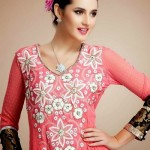 Latest Beautiful Anarkali Suits Collection 2014-2015 For Women (6)