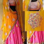Latest Bridal Mahndi Dress Collections 2014 005