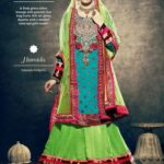 Latest Bridal Wear Wedding Dress Collection 2014 by Nihaal (3)