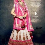 Latest Bridal Wear Wedding Dress Collection 2014 by Nihaal (4)