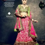 Latest Bridal Wear Wedding Dress Collection 2014 by Nihaal (5)