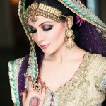 Latest Pakistani Bridal Wear Wedding Dresses New Collection 2014 For Girls (1)