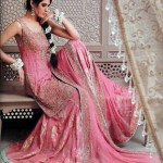 Latest Pakistani Bridal Wear Wedding Dresses New Collection 2014 For Girls (11)