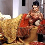 Latest Pakistani Bridal Wear Wedding Dresses New Collection 2014 For Girls (5)
