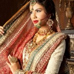 Latest Pakistani Bridal Wear Wedding Dresses New Collection 2014 For Girls (8)