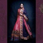 Latest Semi-Formal Winter Dress Collection 2014 For Women By Osman Ghani (2)