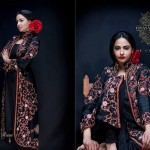 Latest Semi-Formal Winter Dress Collection 2014 For Women By Osman Ghani (3)