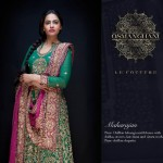 Latest Semi-Formal Winter Dress Collection 2014 For Women By Osman Ghani (4)