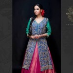 Latest Semi-Formal Winter Dress Collection 2014 For Women By Osman Ghani (5)