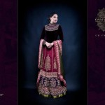 Latest Semi-Formal Winter Dress Collection 2014 For Women By Osman Ghani (6)