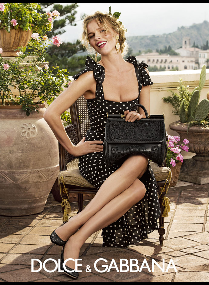 Latest Spring Summer Dress 2014-2015 Women's Campaign By Dolce & Gabbana (3)