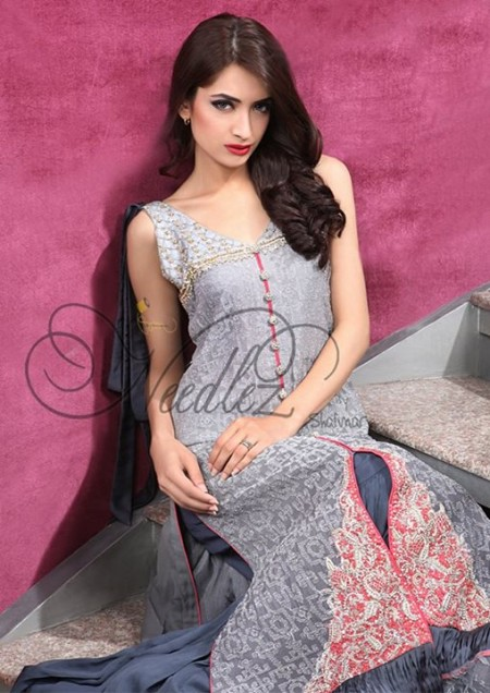 Latest Winter Wear Dress 2014 For Women By Needlez by Shalimar (6)
