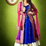 Luxury Indian Women Georgette Formal Wear Collection 2014 002