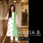 Maria B Latest Evening Wear Dresses New Collection 2014-2015 For Women (3)