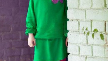 Maria B New Kids Winter Wear Dresses 2014 001