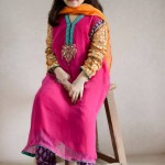 Maria B New Kids Winter Wear Dresses 2014 002