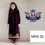 Maria B New Kids Winter Wear Dresses 2014 003