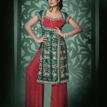 Mashaal Moazzam Latest Party Wear Bridal Dress Collection 2014 For Women (4)