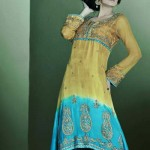 Mashaal Moazzam Latest Party Wear Bridal Dress Collection 2014 For Women (9)