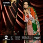 Misha Embroidered Khaddar Dresses 2014 for Women by ZTM 1