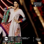 Misha Embroidered Khaddar Dresses 2014 for Women by ZTM