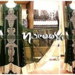 Nakoosh Beautiful Winter Party Wear Dresses Collection 2014 For Women (6)