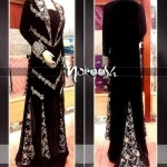 Nakoosh Beautiful Winter Party Wear Dresses Collection 2014 For Women (7)
