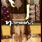 Nakoosh Beautiful Winter Party Wear Dresses Collection 2014 For Women (9)