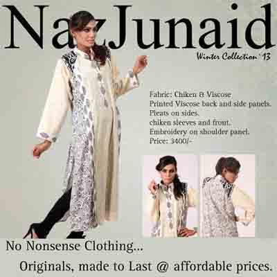 NazJunaid Winter Latest Collection 2014 001