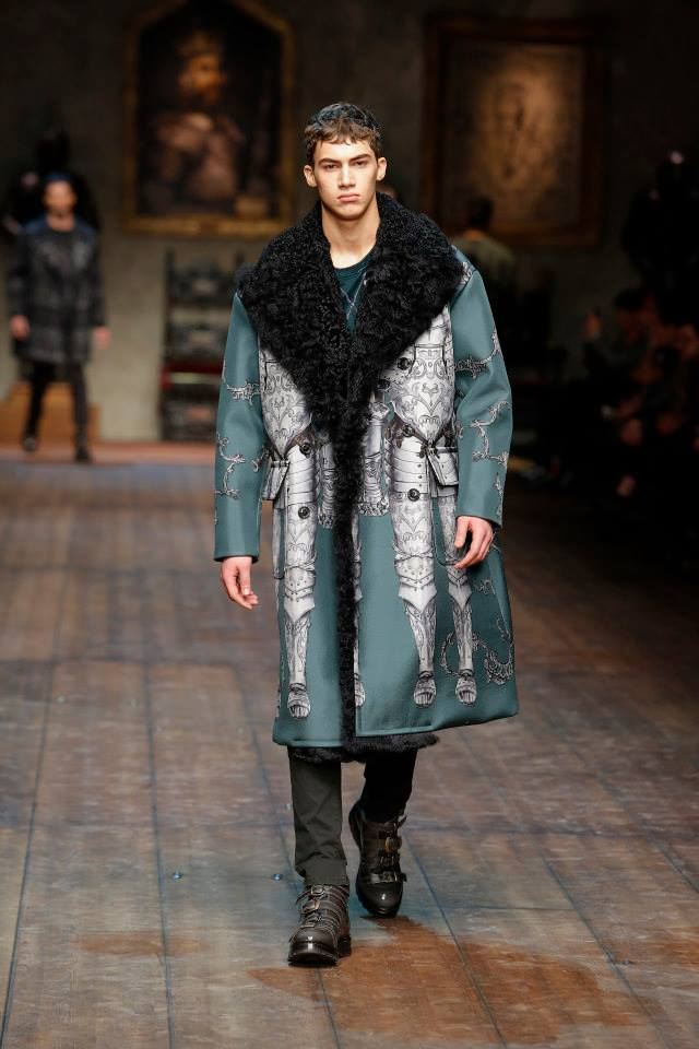 Normans Men Wear Winter Collection 2015 by Dolce & Gabbana (5)