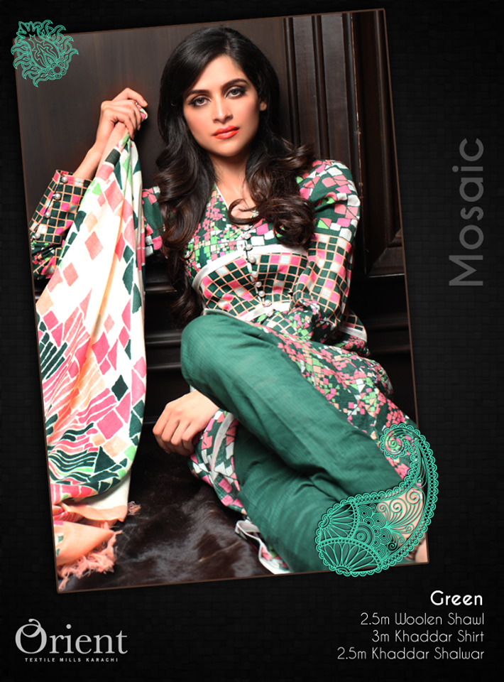 Orient Textile Linen Dresses 2014 Collection for Women 2