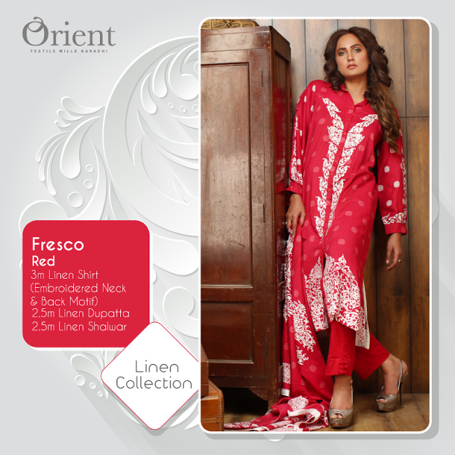 Orient Textiles Linen Dresses Collection 2104 001