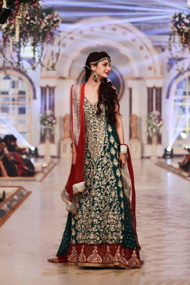 Pakistani Bridal Couture Wedding Dresses 2014 1