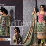Puri Textiles Latest Embroidered Winter Dresses 2014 For Women (2)