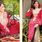 Puri Textiles Latest Embroidered Winter Dresses 2014 For Women (3)