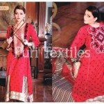 Puri Textiles Latest Embroidered Winter Dresses 2014 For Women (4)